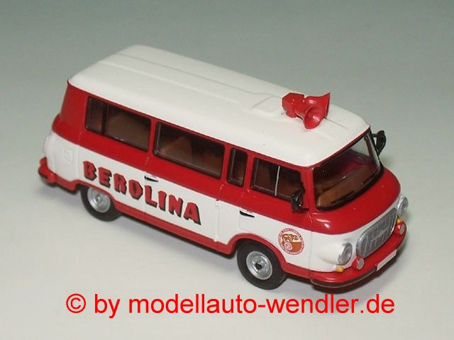 Barkas B 1000 Bus Berolina (1. Version) (BRE 30033)