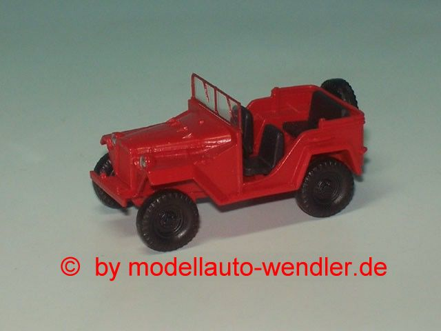 GAZ 67 B Jeep offen FW, rot (OST P269-675702-2R_)