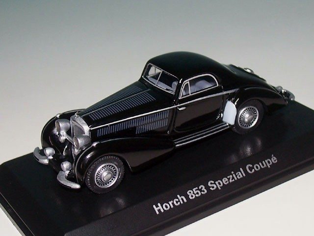 Horch 853 Spezial Coupe (BJ 1937), schwarz (BOS BOS87350)
